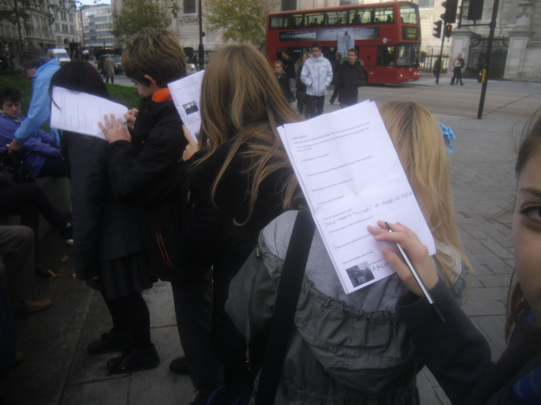Can a day change Year 8's view of London's past? Reimagining the school trip